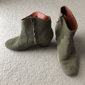 Isabel marant dicker booties taupe Sz 39